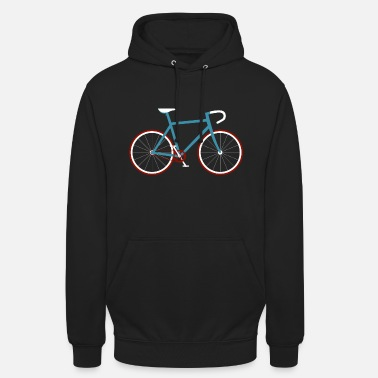 Bicycle Bicycle Retro Vintage Cycling Bike Cyclist - Unisex Hoodie