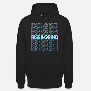 Levigare Rise and Grind - Hoodie unisex