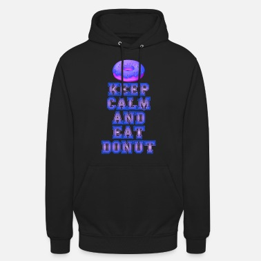 Snoepen Donut Donuts Candy Vintage Retro - Unisex hoodie