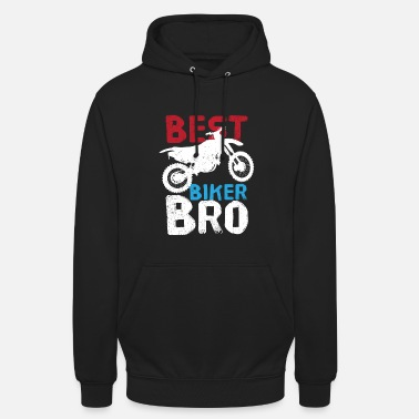 Véhicule Déclaration de Biker Bro Motorcycle Friend Motorcycles - Sweat à capuche unisexe