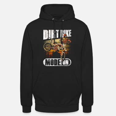 Motocross Dirt Bike Mode - Unisex Hoodie
