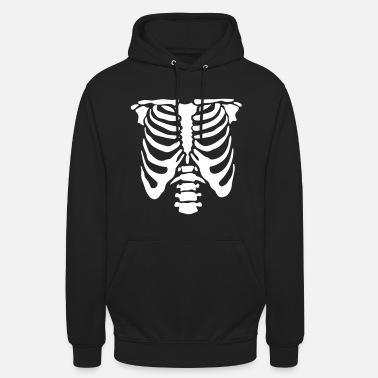 New Skeleton Hoodie Zip-Up Kids Hoodies Halloween Costume scary ghost funny bone