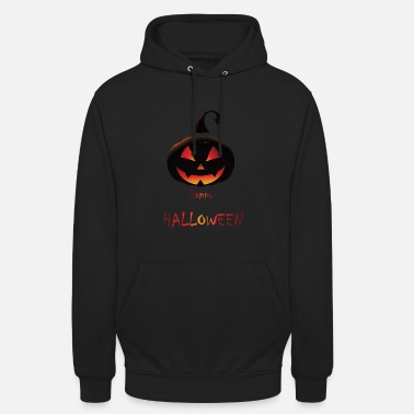 Treat Pumpkin Happy Halloween - Unisex Hoodie