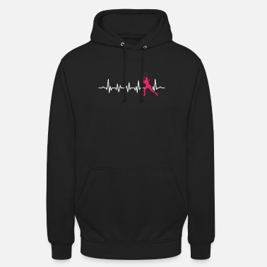 Sports Racquet Sports Players Rubber Ball Paddleball - Hoodie unisex