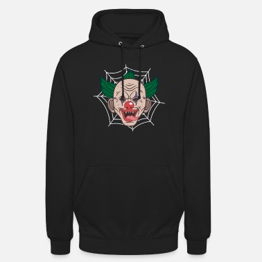 Keep Calm Glad Hallowine Halloween kostym Clown läskig - Hoodie unisex