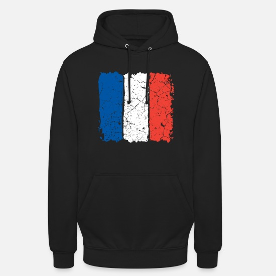French Flag Hoodies & Sweatshirts - France flag - Unisex Hoodie black