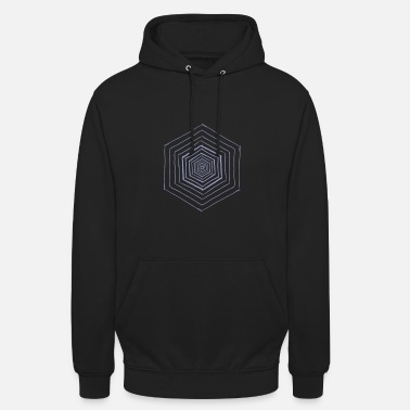 Hexagon Hexagon pattern hexagon gift idea - Unisex Hoodie