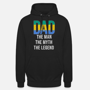 Fathers Gabon Dad Fathers Day - Unisex Hoodie