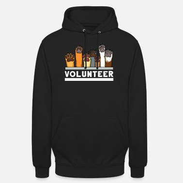 Animal Animal shelter Dog rescue Adopt animal welfare - Unisex Hoodie