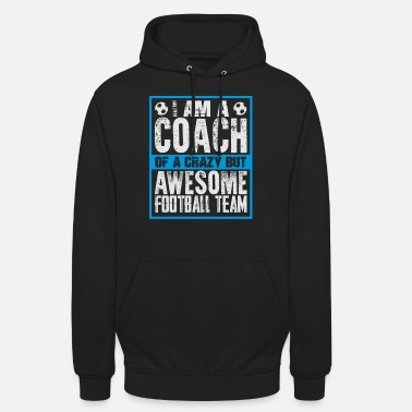 Coach Voetbal Voetbal Coach Coach Gift - Unisex hoodie