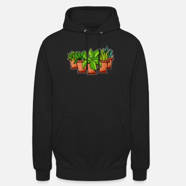 Plant-grounds plants - Unisex Hoodie