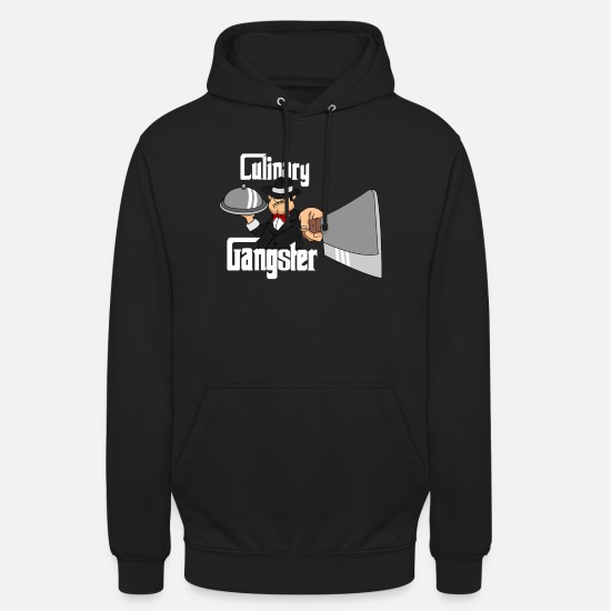 Lover Hoodies & Sweatshirts - Culinary Gangster - Unisex Hoodie black