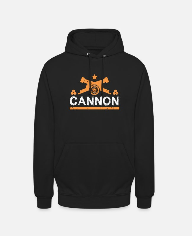Easter Hoodies & Sweatshirts - Cannon gift cannonball fortress - Unisex Hoodie black