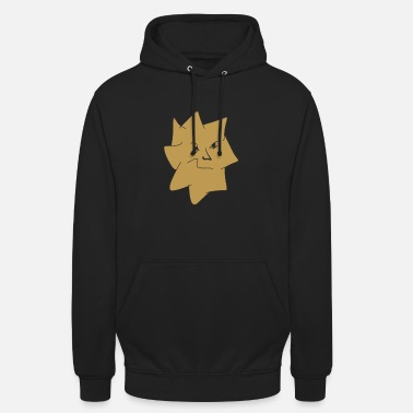 Graphic Art Angry star graphic art - Unisex Hoodie