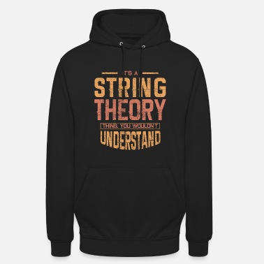 Stringed String theory - Unisex Hoodie