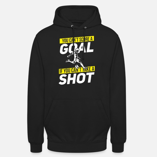 National Team Hoodies & Sweatshirts - Soccer Shot Ball Goal Stadium Player Penalty Kick - Unisex Hoodie black