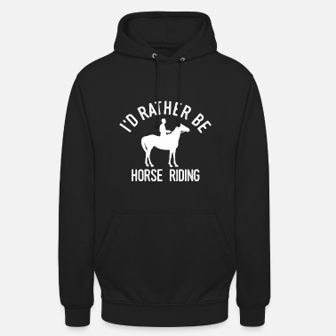 Funny Horse Rider Riding Funny Showjumper Gift - Unisex Hoodie