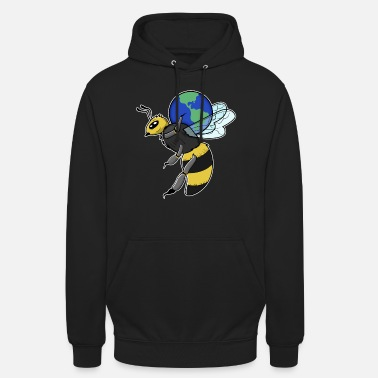 Save The World Save Bees Save the World - Unisex Hoodie