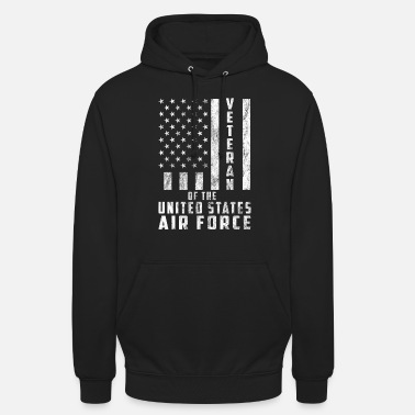 United States Veteraan van de United States Air Force Gift - Unisex hoodie