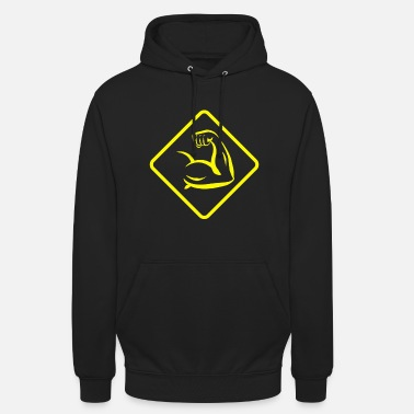 strong yellow - Unisex Hoodie