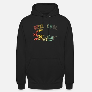 Roll of cool dad father's day - vintage dad gift - Unisex Hoodie