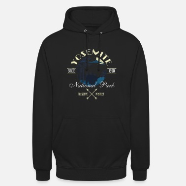 Helped Dome Preserve Protect Yosemite National Park - Unisex Hoodie