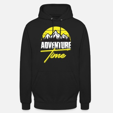 Transparent Adventure time - Unisex Hoodie