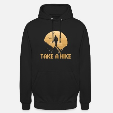 Alpenverein Hiking T Shirt Take a Hike - Unisex Hoodie
