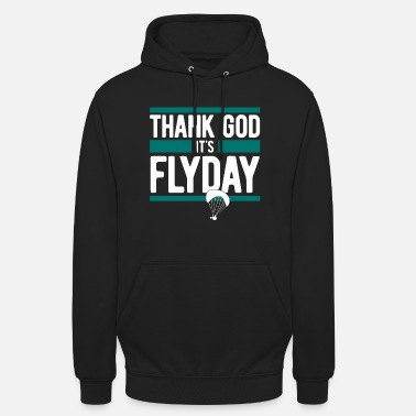 Paragliding, Paragliding - Thank God It's Flyday - Unisex Hoodie