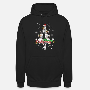 Hang Merry Christmas And French Bulldog Tree Shirt - Unisex Hoodie