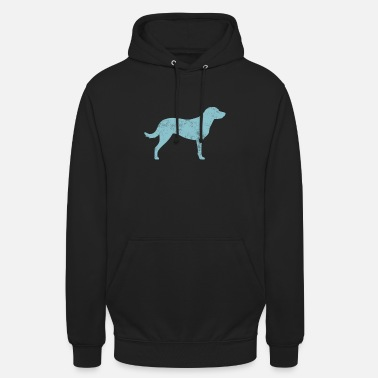 Chesapeake Retriever Dog Graphic Chesapeake Bay Retriever Dog Silhouette - Unisex Hoodie