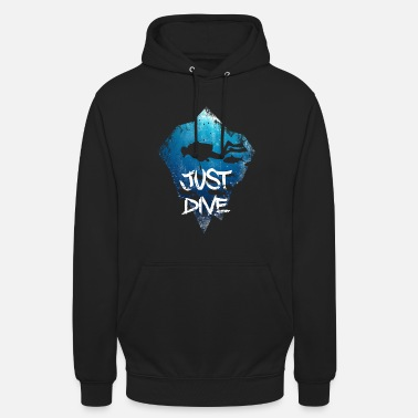 Scuba XASTY Just Dive Diver Scuba Diving Sea - Unisex hoodie