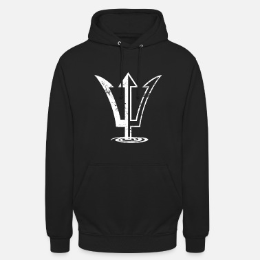 Symbol Poseidon symbol - Greece god mythology - Unisex Hoodie