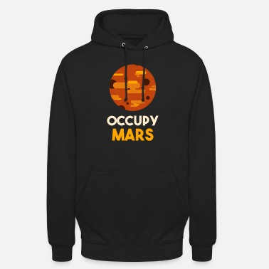 Occupy Occupy Mars Planet - Unisex Hoodie