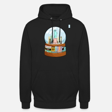 Charade New York Broadway Snow Globe Funny Gift - Unisex Hoodie