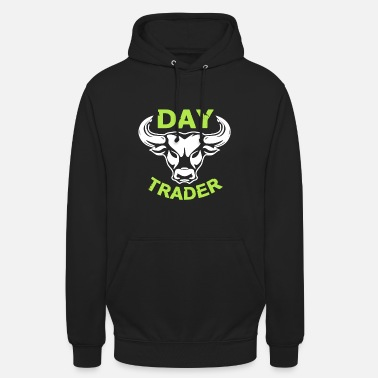 Bourse Day Trader Shirt - Sweat à capuche unisexe