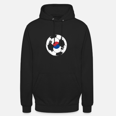 Football Field Soccer South Korea - Unisex Hoodie