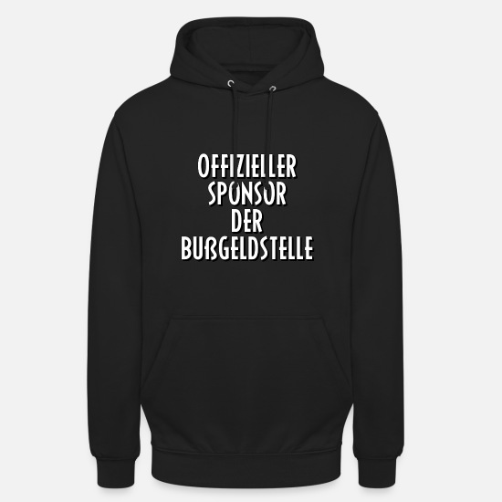 Gift Idea Hoodies & Sweatshirts - Penalty Office Police gift gift idea saying - Unisex Hoodie black