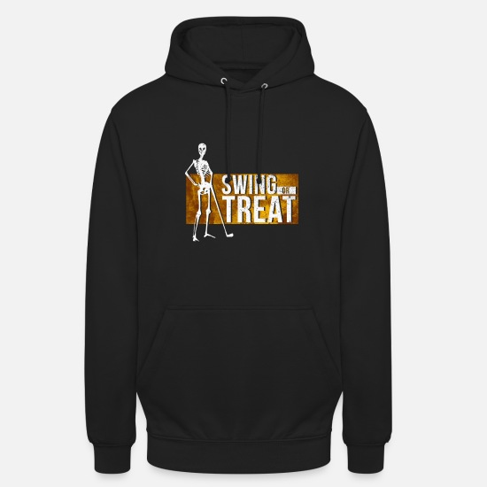 Birthday Hoodies & Sweatshirts - Golf Golf Club Halloween Swing Treat Gift - Unisex Hoodie black
