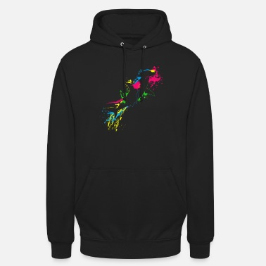 Great Colored Hammerhead Fish - Unisex Hoodie