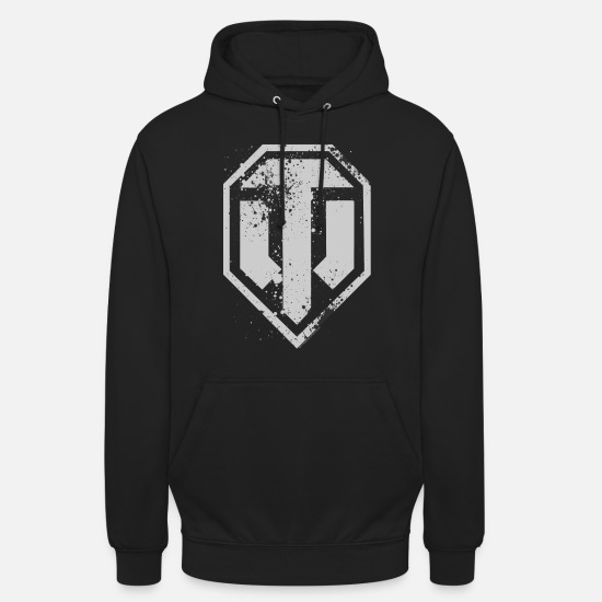 World Of Sweaters & hoodies - World of Tanks Logo - Unisex hoodie zwart