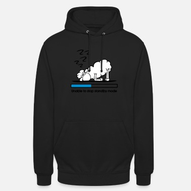 Standby Sheep in standby - Unisex Hoodie