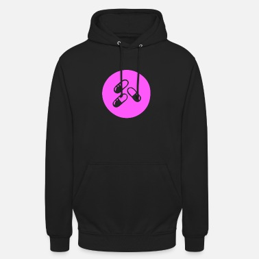 Good Mood Pill Pink pills for a good mood - Unisex Hoodie