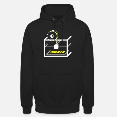 3d 3D printer design for makers - Unisex Hoodie