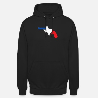 Wapeneigenaren Texas gun weapons gift idea Texan USA - Unisex hoodie