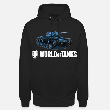 World World of Tanks - Blue KV1S - Unisex Hoodie