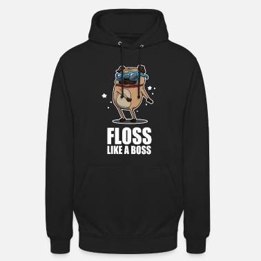 Gaming Floss Som En Boss Dance Pug Pug Design - Hoodie unisex