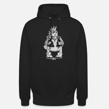 Black And White Collection Casimir was a punk - Unisex Hoodie
