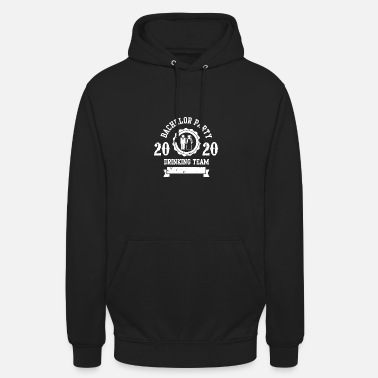 Tema Bachelor Party 2020 Drinking Tema JGA Bachelor - Unisex Hoodie