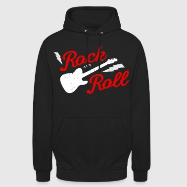 ROCK AND ROLL - Sweat-shirt à capuche unisexe